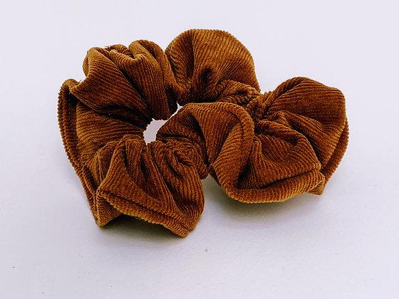 Presse Papier Ciseau - Chouchou en velour couleur caramel