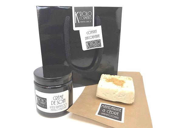K'rolo Cosmetics - Shampooing cèdre - mandarine + soin mangue
