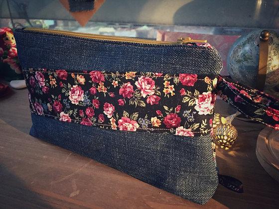 La Roulotte - Trousse jeans et tissu
