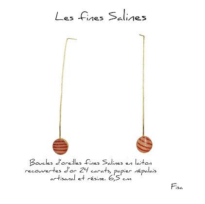 So Sol and Sea - Boucles d'oreilles - Les fines salines