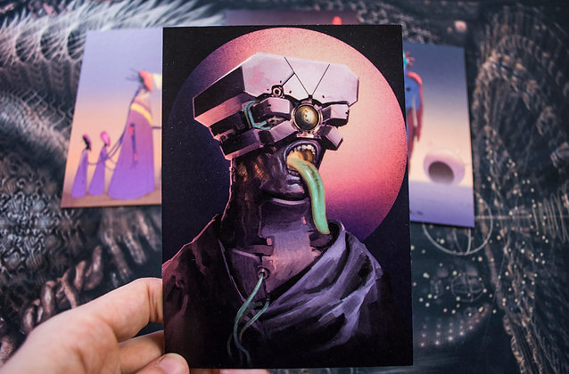 "Thomas Rome - Carte postale ""Hekto"""