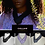 Thumbnail: C.Pouki - Collaw bleu marine, collier en V