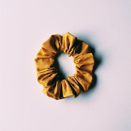 POP DAY - Chouchou en coton ocre