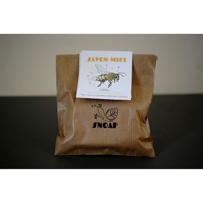 Snoap - Savon solide au miel de  lavande et curcuma