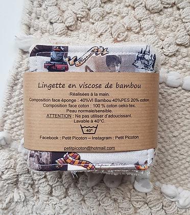 Petit Picoton - 10 lingettes en viscose de bambou