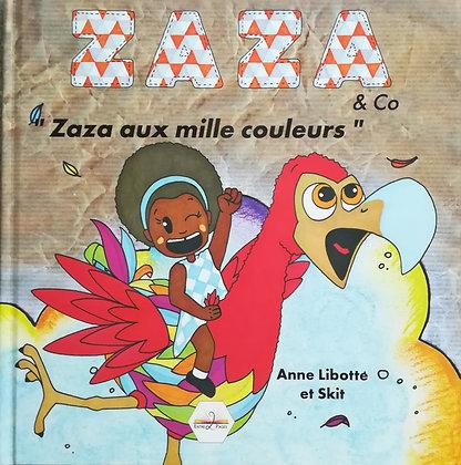 Les éditions Entre 2 Pages - Zaza aux mille couleurs - Album