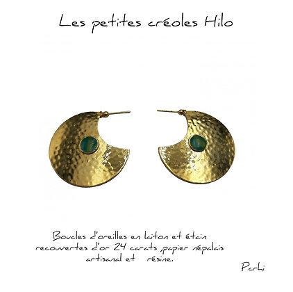 So Sol and Sea - Boucles d'oreilles - Les petites créoles Hilo