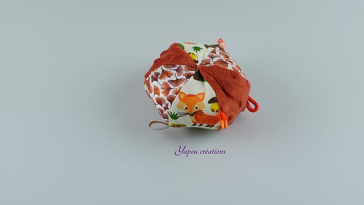 Yapou Créations - Balle ludique - Brique