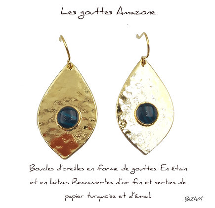 So Sol and Sea - Boucles d'oreille Amazone