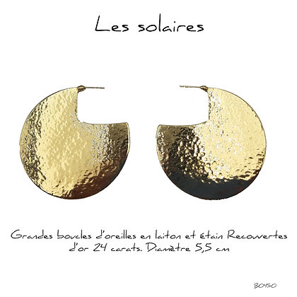 So Sol and Sea - Boucles d'oreillle Solaire
