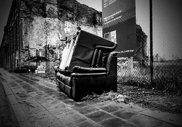 Carolos Couchs & Other sofas - Tableau Photo Devant les ruines