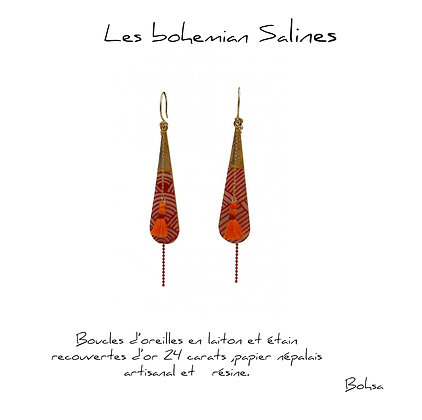 So Sol and Sea - Boucles d'oreilles - Bohemian salines