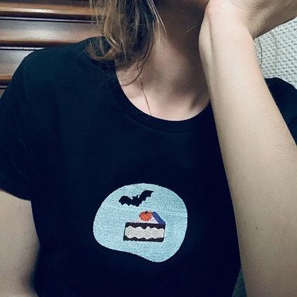 POP DAY - T-shirt chauve-souris et gâteau gouteux - taille M