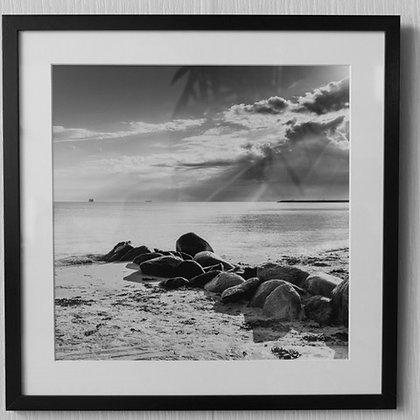"""Benoit De Clerck - Photo """"Rochers sur la plage"""" (40/40)"""