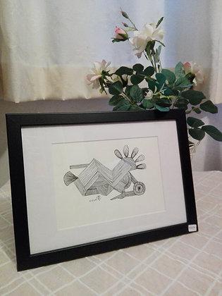 Art et Vie - Tableau Zen Art #0020