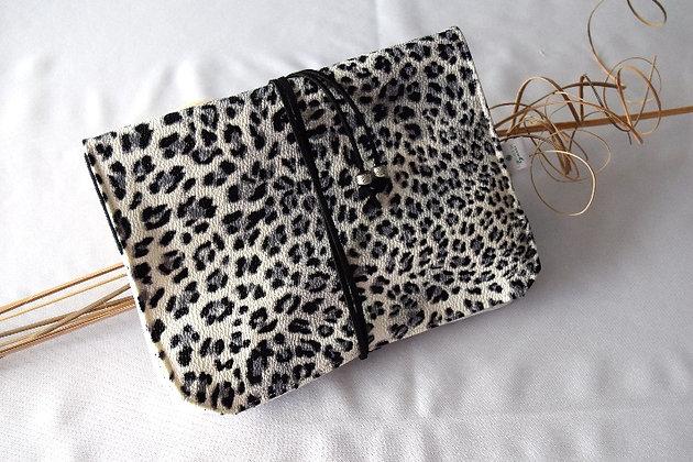 Atelier de Lynie - Pochette à bijoux Simili Cuir Leopard