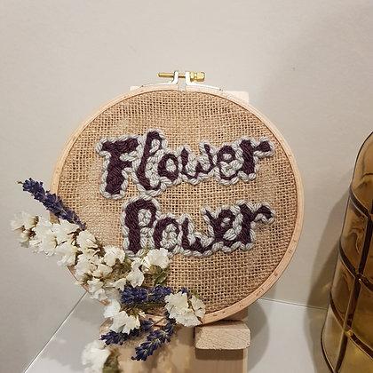 NondiDjoul! - Broderie Flower Power