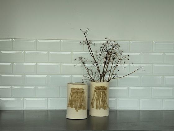 Sakatoo - Vase macramé