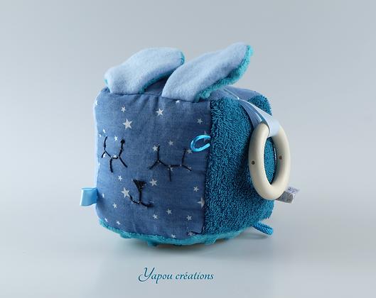 Yapou Créations - Cube d'éveil - Etoiles