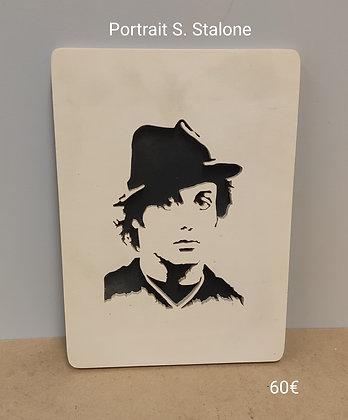 Slowgame - Portrait  S. Stallone