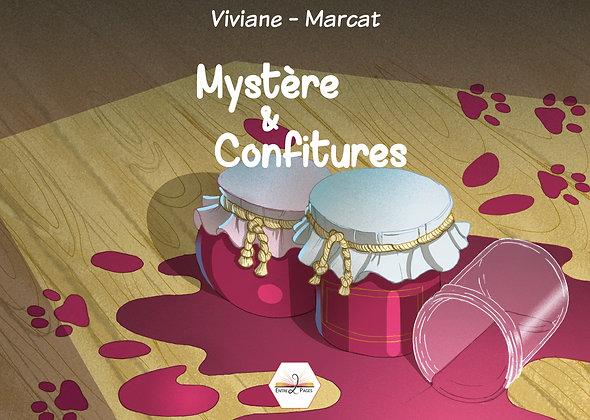 Les éditions Entre 2 Pages - Mystère & confitures - Album