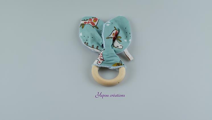 Yapou Créations - Anneau de dentition - Dinos