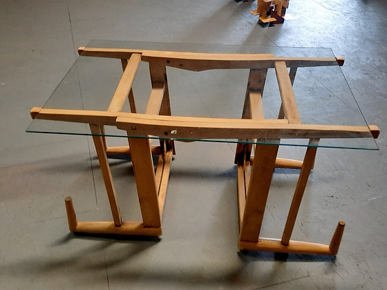 Avanti - Les 2 chaises oeuvre collective de Dominico,Laurence,kathleen,Je
