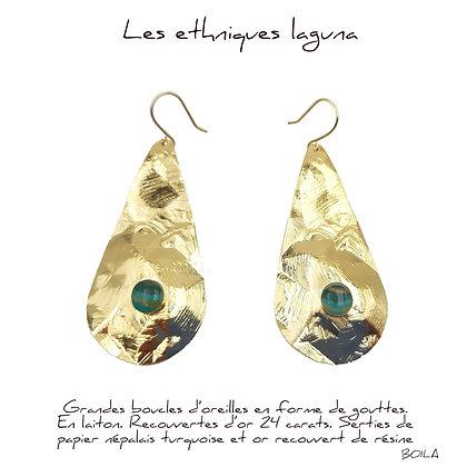 So Sol and Sea - Boucles d'oreillle 1 Laguna