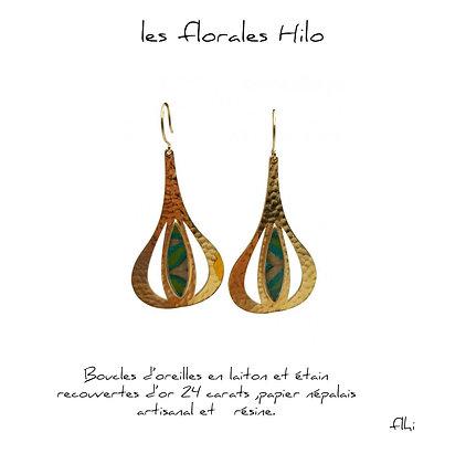 So Sol and Sea - Boucles d'oreilles - Les florales Hilo