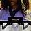 Thumbnail: C.Pouki - Collaw lilas, collier en V