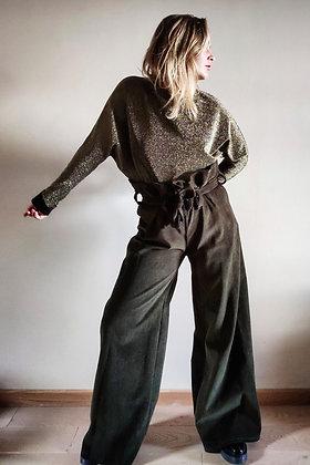 CR Creative -  Bat blouse - Bat blouse gold - oeko-tex 100