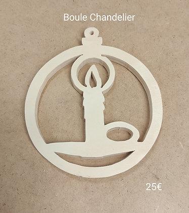 Slowgame - Boule Noël chandelier