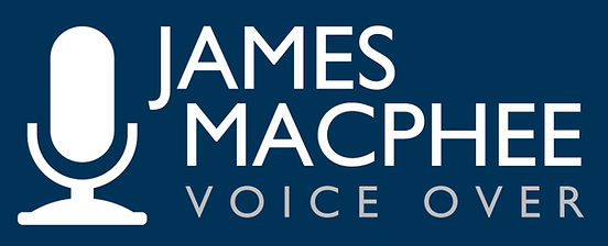 James MacPhee Voiceover Inc logo Voice over