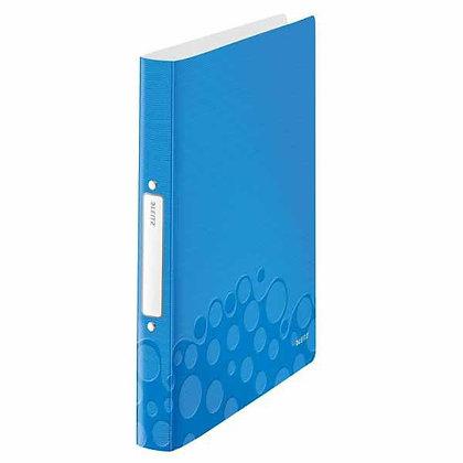 Classeur WOW Bleu A4 souple (25mm)