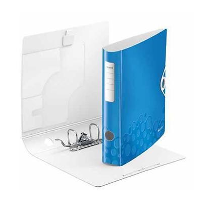 Classeur Leitz WOW à levier Bleu (50mm)