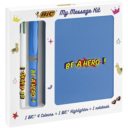 """My Message Kit """"Be a Hero"""""""