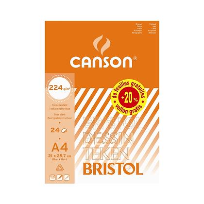 Canson Bloc Bristol A4 (224GR)
