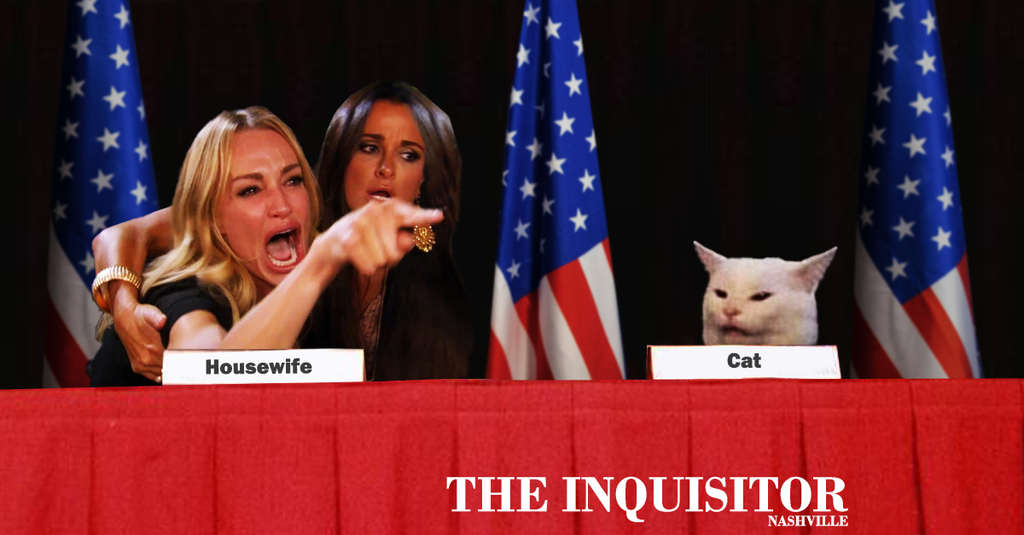 Housewife Cat Sign Peace Accord Ending All Need For Further