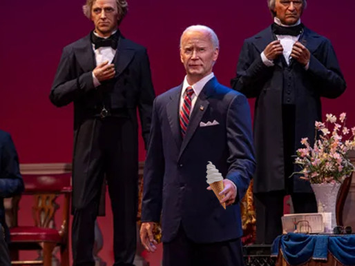 Disney's new animatronic Biden will be first president to feature animatronic ice cream