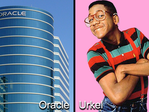 Ok, Nashville. Despite what your southern friends say, Urkel is not moving to town. It's Oracle.