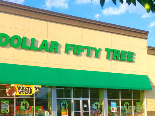 Amid price hike, Dollar Tree quietly rebrands as Dollar Fifty Tree