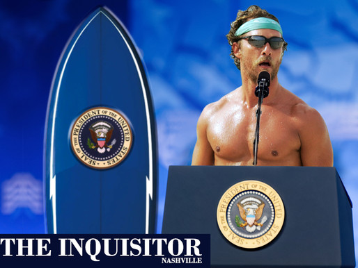 95% of Americans say they'd be 'Alright' if Matthew McConaughey ran for president
