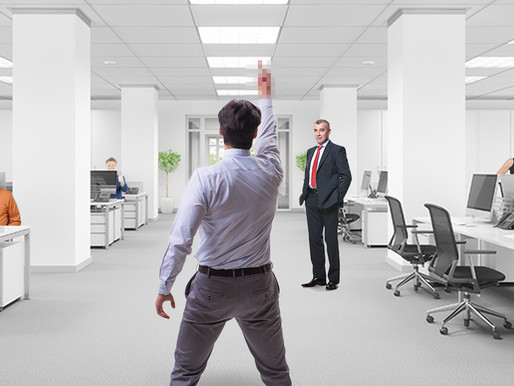 Quitting Etiquette: Should I use one middle finger or two when leaving my job?