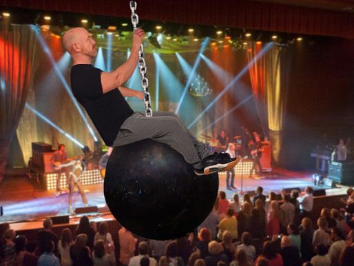 Lucky Miley Cyrus fan gets to ride wrecking ball through Ryman Auditorium