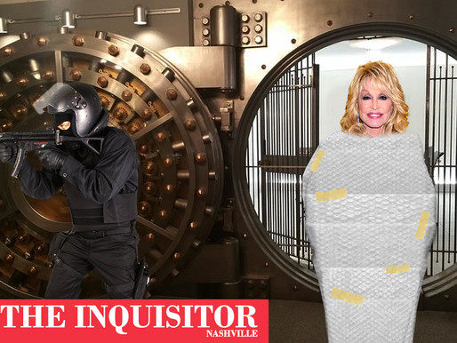 'Why risk it?': Dolly Parton bubble-wrapped, secured in vault for rest of 2020