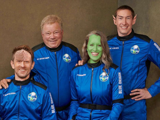 Blue Origin crew goes above and beyond to make William Shatner feel at home in space