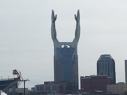 Batman Building attaches goal signal to celebrate Titans win over Seattle