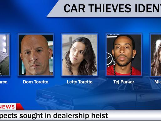 Police release photos of elite car thieves suspected in Nashville area heist