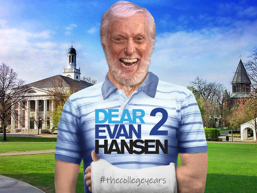 Dick Van Dyke cast as college-aged Evan Hansen in Dear Evan Hansen sequel