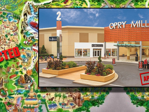 Plans to build new Nashville theme park already replaced with plan for 2nd Opry Mills Mall